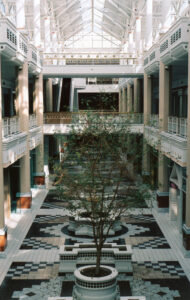 From Cap Blackard's beautiful photo set of the mall after closing.