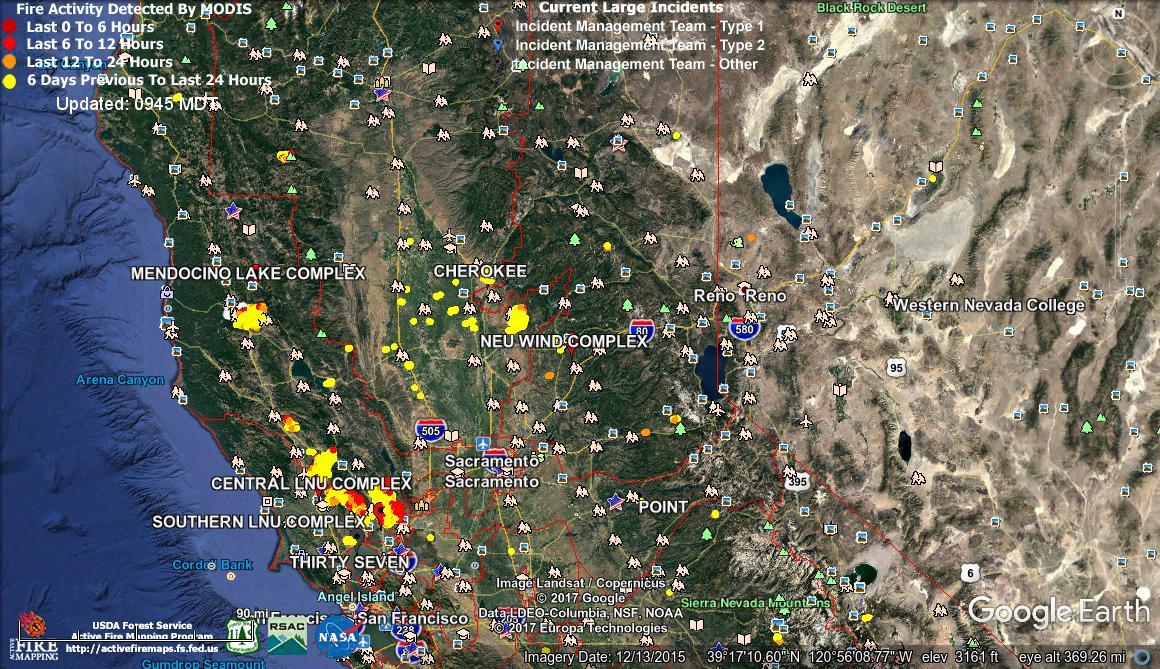 Large Incident Fire Map.Rain Please Kg4cyx